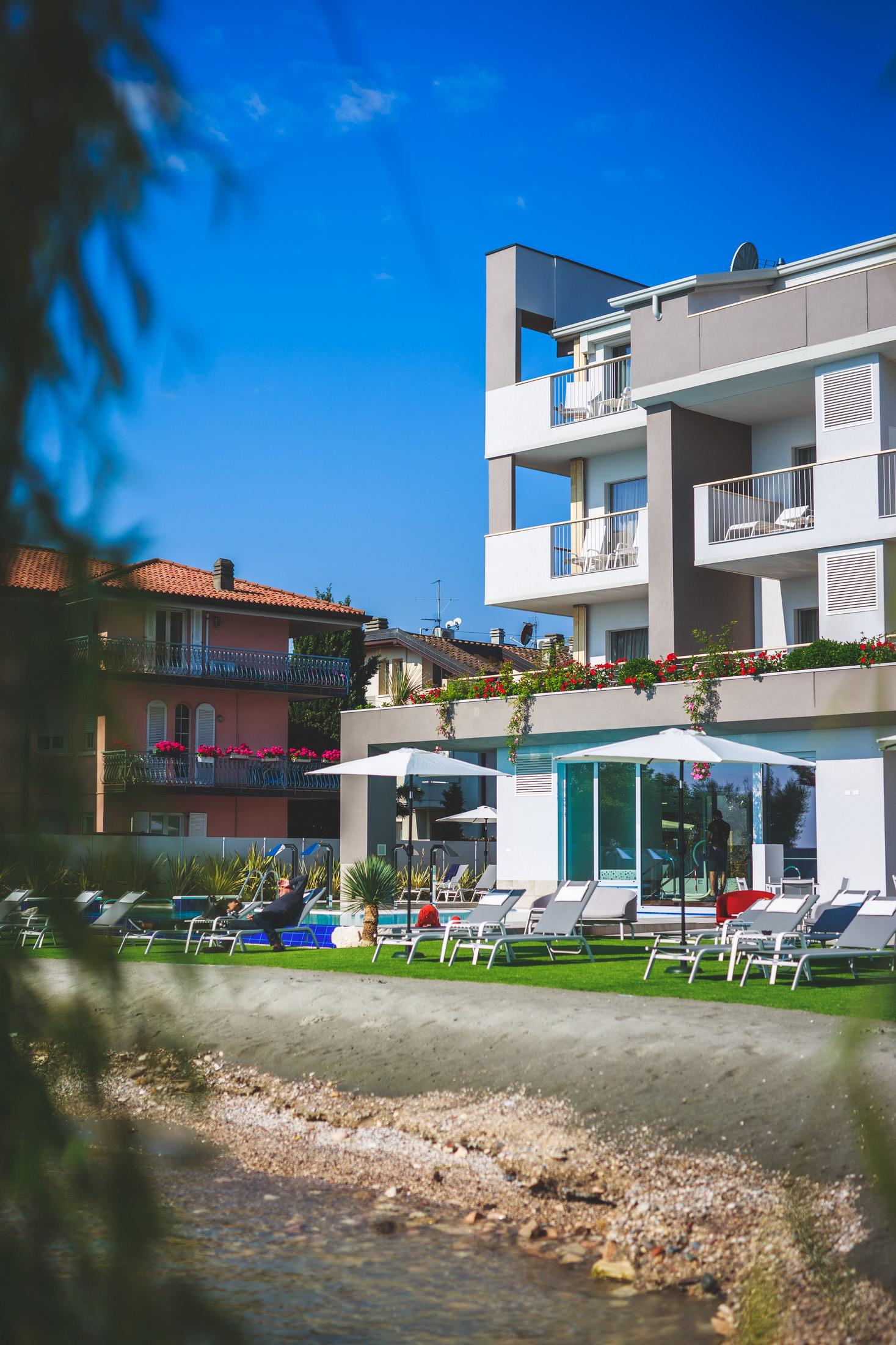 costruzione Hotel Ocelle Sirmione